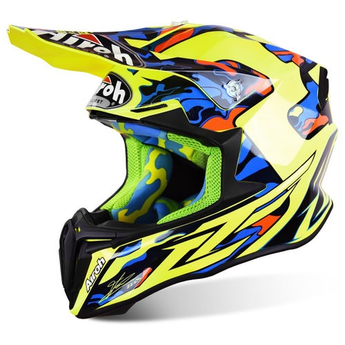 Kask MX Airoh Twist - Tony Cairoli TC16 Replica