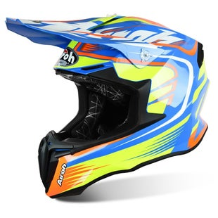 Airoh Twist Motocross Helmet - Mix Blue