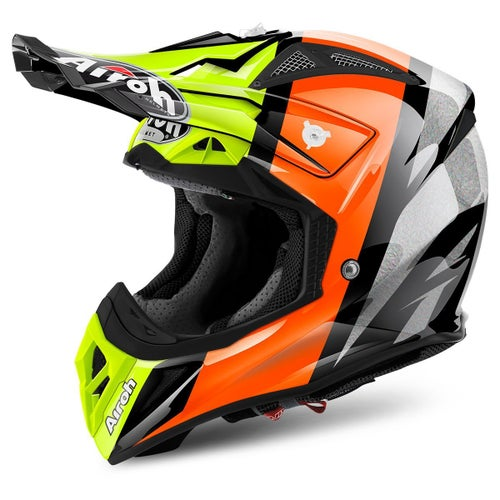 Kask MX Airoh Aviator 2.2 - Revolve Orange