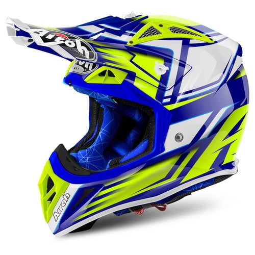 Airoh Aviator 2.2 MX Helm - Restyle Yellow