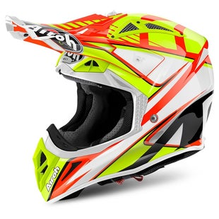 Airoh Aviator 2.2 Motocross Helmet - Double Orange