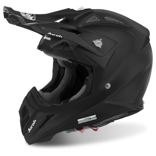 Airoh Aviator 2.2 MX Helm - Matt Black