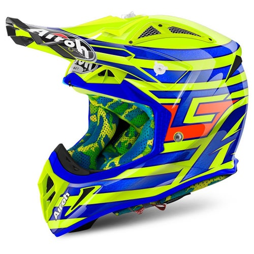 Airoh Aviator 2.2 MX Helm - Cairoli Qatar Yellow