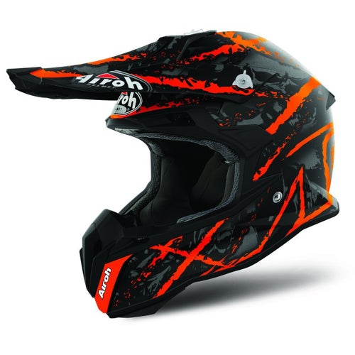 Airoh Terminator 21S MX Helm - Carnage Orange