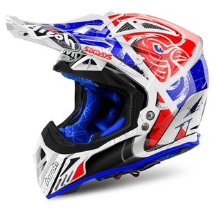 Airoh Aviator 2.2 Motocross Helmet - Six Days Red Limited Edition