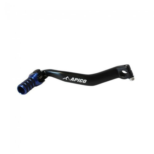 Apico Gear Pedal Elite Yamaha YZ250F 0105 and YZ450F 03 Gear Lever - 05 Black Blue
