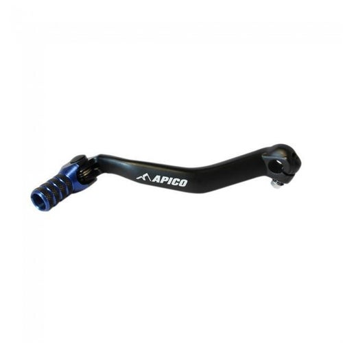 Apico Gear Pedal Elite Yamaha YZ125 250 05 Gear Lever - 17 Black Blue