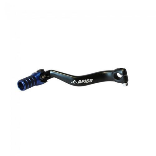 Apico Gear Pedal Elite Yamaha YZ125 9604 YZ250 8904 and YZ85 02 Gear Lever - 17 Black Blue