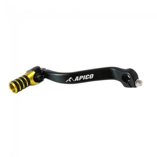 Apico Gear Pedal Elite Suzuki RMZ450 08 Gear Lever - 17 Black Yellow