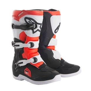 Alpinestars Tech 3S Motocross Boots Motocross Boots - Black White Red