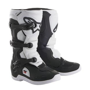 Alpinestars Tech 3S Motocross Boots Motocross Boots - Black and White