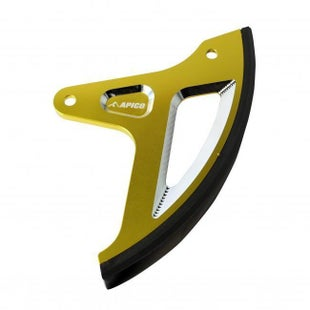 Apico Rear Brake Disc Guard Suzuki RMZ250 1117 RMZ450 0817 DRZ40 Brake Disc Guard - Yellow