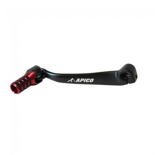 Apico Gear Pedal Elite Honda CRF150R 07 Gear Lever - 17 Black Red