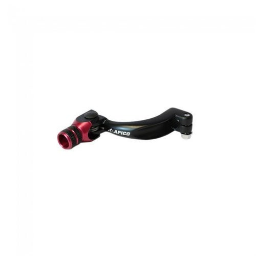 Apico Gear Pedal Elite Gas Gas TXT Pro 02 Gear Lever - 17 Black Red