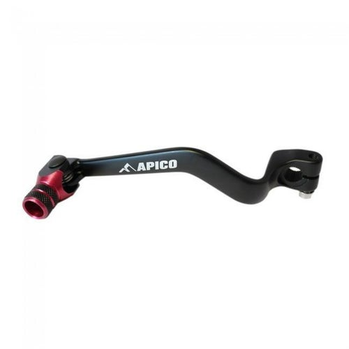 Apico Gear Pedal Elite Beta Rev Evo 125300 Trials 00 Gear Lever - 17 Black Red