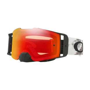 Oakley Front LineMatte White Motocross Goggles - Prizm Torch Iridium Lens