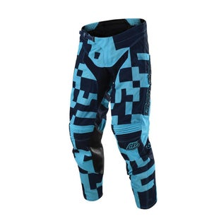 Troy Lee GP AIR Maze YOUTH MX Motocross Pants Boys Motocross Pants - Turquoise Navy