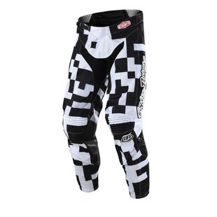 Troy Lee GP AIR Maze MX Motocross Pants Motocross Pants - Black White