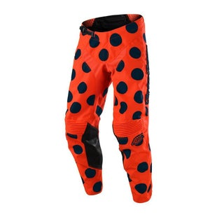 Troy Lee GP AIR Polka Dot MX Motocross Pants Motocross Pants - Orange Navy