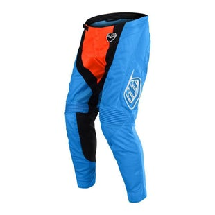 Troy Lee SE AIR Sqaudra MX Motocross Pants Motocross Pants - Cyan Orange