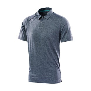 Seven Casual 181 Command Polo Shirt - Charcoal Heather