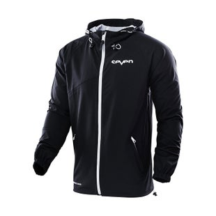 Seven Casual 181 Galaxy Windbreaker Jacket Windproof Jacket - Black