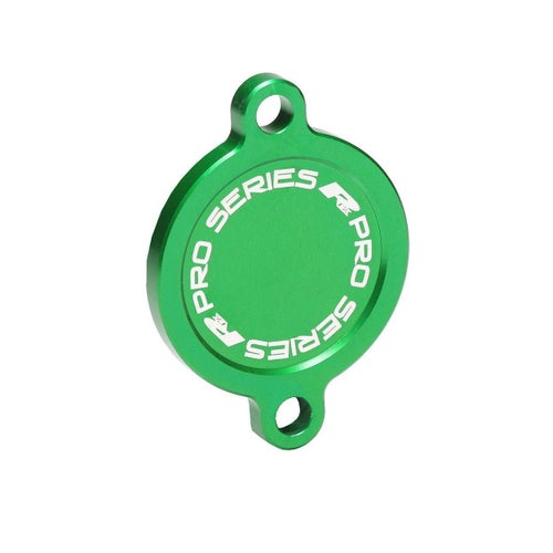 RFX Pro Oil Filter Cover Kawasaki KXF450 1618 Oil Filter Cover - Green