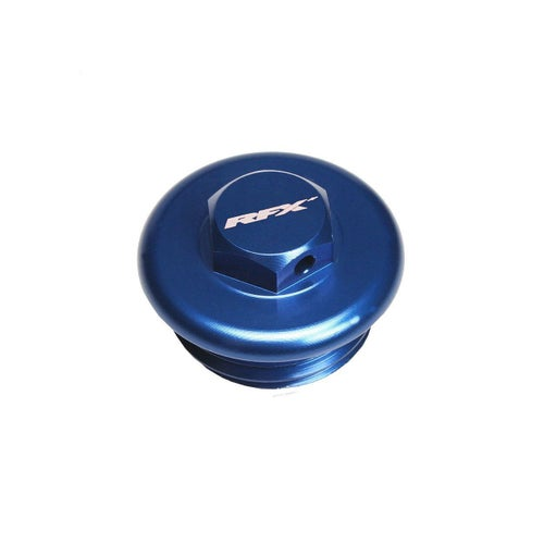 RFX Pro Oil Filler Plug KTM SX SXF 98On Oil Filler Plug - Blue