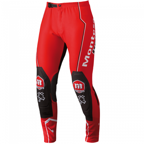 Hebo Pant Montesa Classic Medium MX Kalhoty - Red