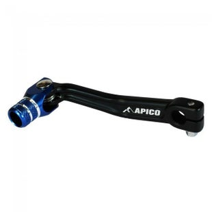 Apico Gear Pedal Trials Short Sherco 0017 Gear Lever - Black Blue