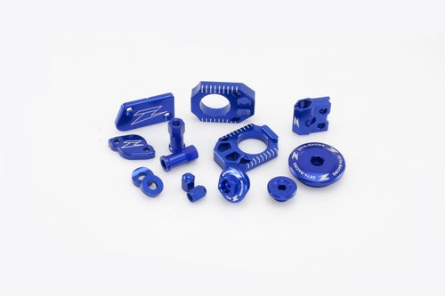 Zeta Billet Kit Husqvarna FE250 250 450 501 MX Bike Bling - Blue
