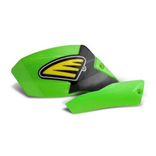 Cycra Ultra Pro Bend Low Cover Replacement MX Handguard Spares - Green