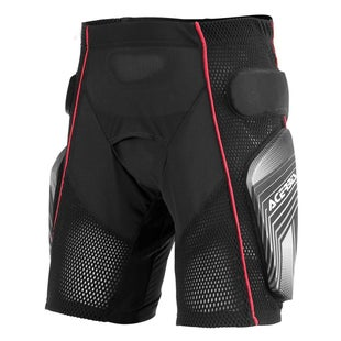 Acerbis Soft 20 Riding Shorts Motocross Schutz-Shorts - Black Red