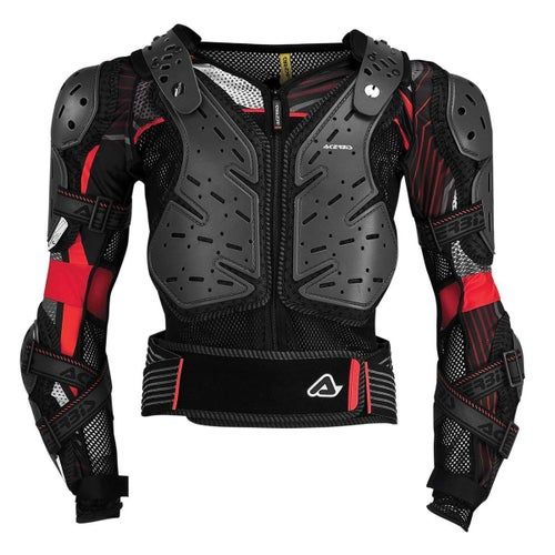 Acerbis Koerta 20 Body Armour Body Protection - Black Red