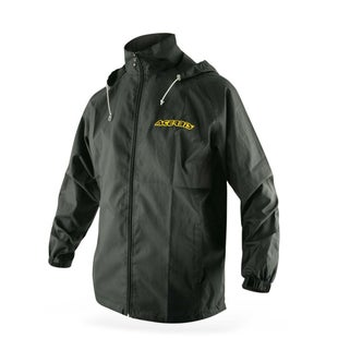Acerbis Waterproof Corporation Raincoat Jacket - Black