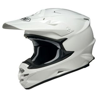 Shoei VFXW Motocross and Enduro Helmet Motocross Helmet - White