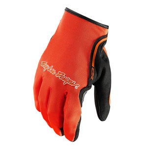 Troy Lee XC Motocross Gloves - Flou Orange