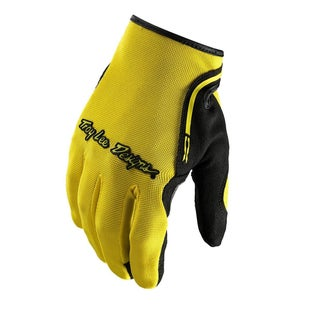 Troy Lee XC Motocross Gloves - Yellow