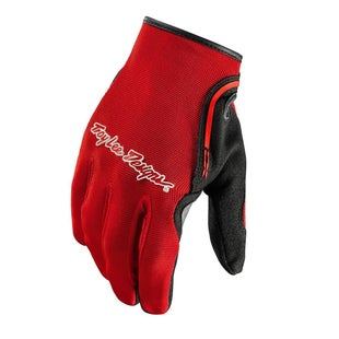 Troy Lee XC Motocross Gloves - Red