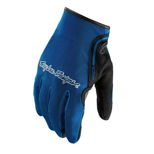 Troy Lee XC Motocross Gloves - Blue