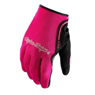 Troy Lee XC Motocross Gloves - Flou Pink