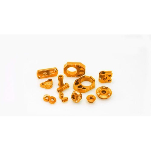 Zeta Billet Kit KTM EXCF Enduro Bikes MX Bike Bling - Orange