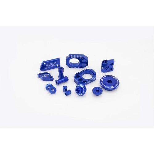 Zeta Billet Kit Yamaha YZ450FX 1617 MX Bike Bling - Blue