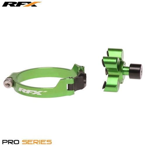 RFX Pro Series Launch Control Kawasaki KXF250 450 0617 Holeshot Launch Control - Green