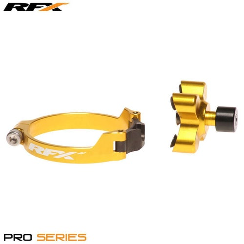 RFX Pro Series Launch Control Kawasaki KXF250 450 0617 Holeshot Launch Control - Yellow
