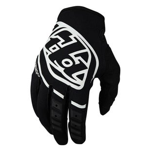 Troy Lee YOUTH GP Motocross Gloves - Black