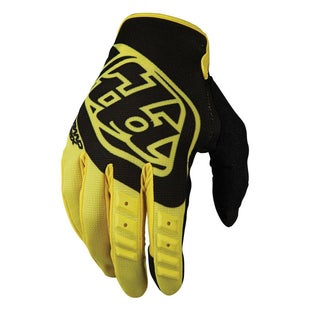 Troy Lee GP Motocross Gloves - Yellow