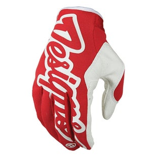 Troy Lee SE Pro Motocross Gloves - Red
