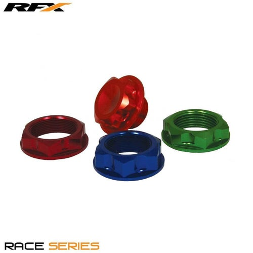 RFX Pro Steering Stem Nut 94 Suz Red Assorted Nuts & Bolts - Red