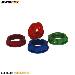 RFX Pro Steering Stem Nut 94 Suz Blue Assorted Nuts & Bolts - Blue